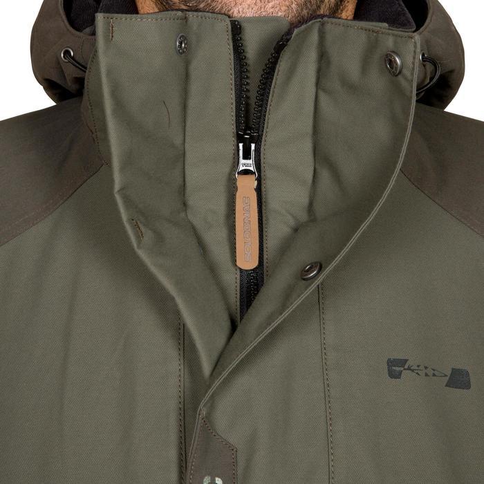 Veste chasse Inverness 500 imperméable vert - 526516