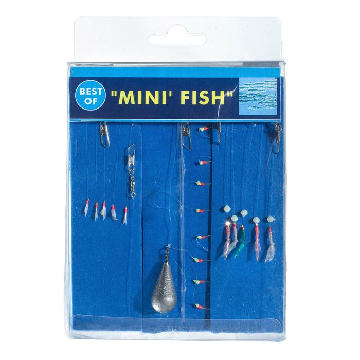 Bas de ligne BEST OF Mini fish x3 pêche en mer