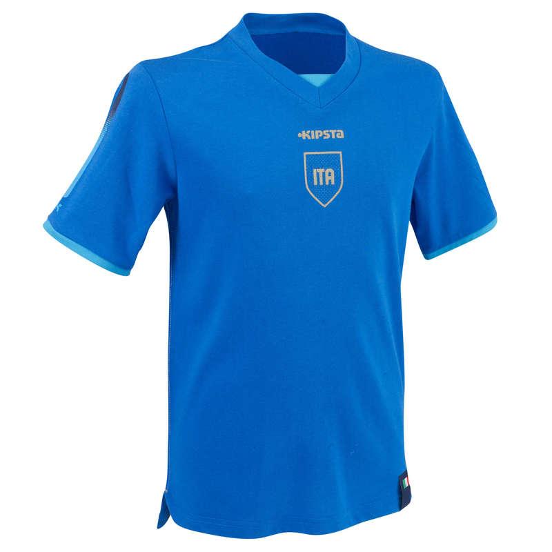ITÁLIE Fotbal - DĚTSKÝ FOTBALOVÝ DRES FP500 KIPSTA - Fotbalové oblečení