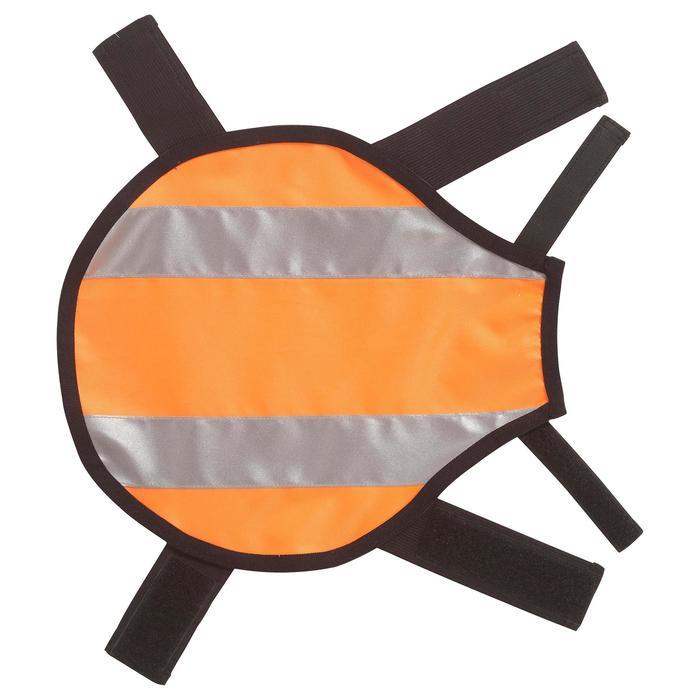 Chaleco Perro Caza Solognac 100 Naranaja Fluo