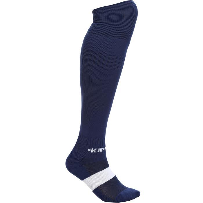 Chaussettes de football adulte F500 blanche - 53261