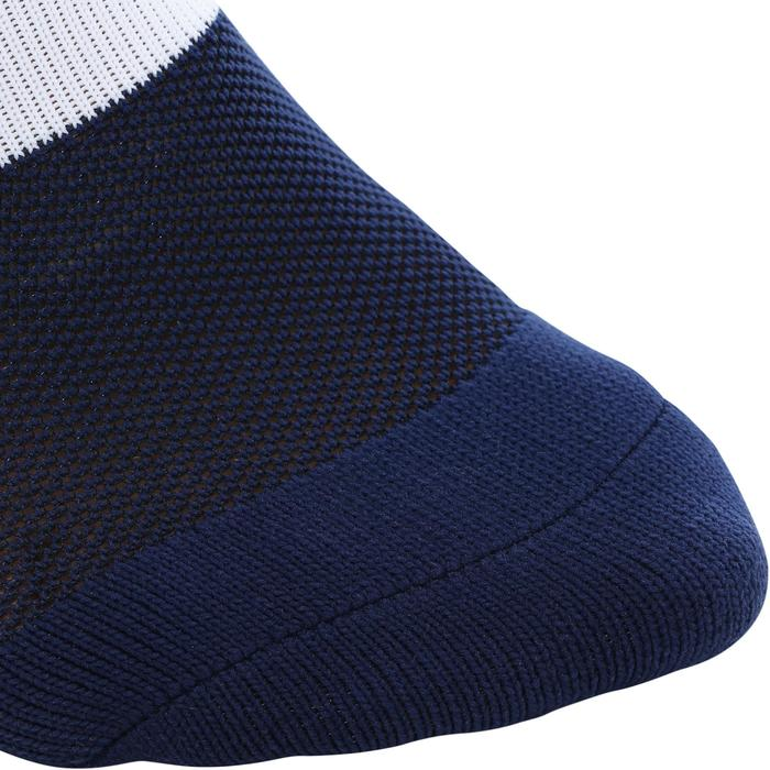 Chaussettes de football adulte F500 bleue marine