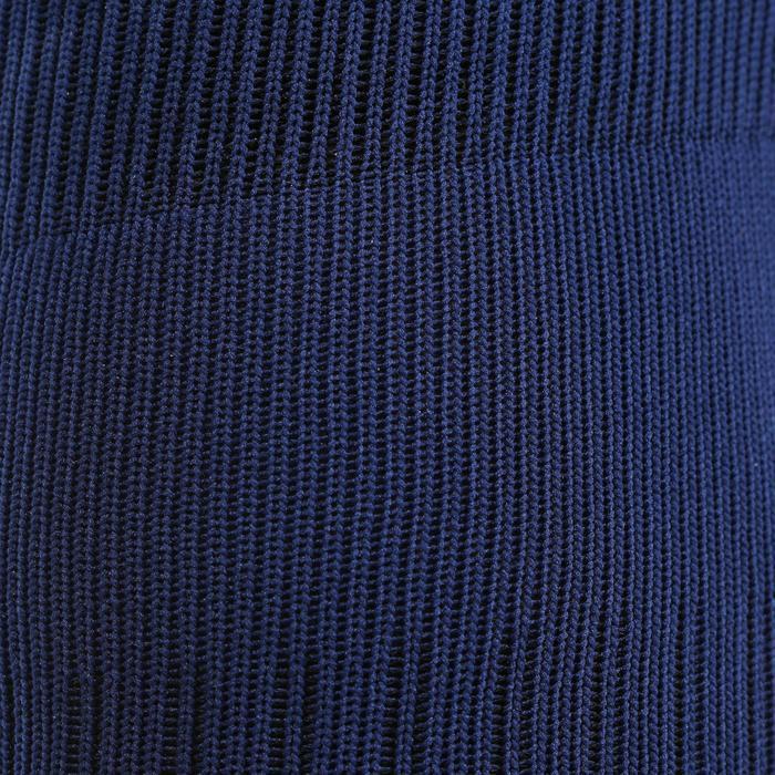 Chaussettes de football adulte F500 blanche - 53272