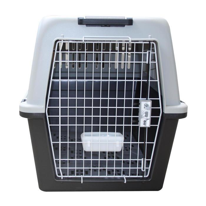 Caisse transport pour 1 chien taille XL 91x61x66,5cm - Norme IATA