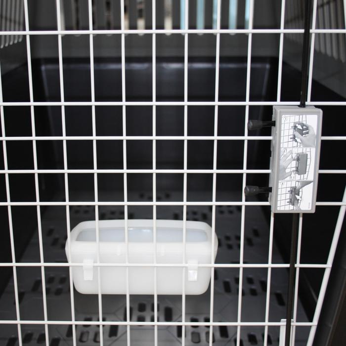 Hundetransportbox XL 91 × 61 × 66,5 cm – IATA-konform