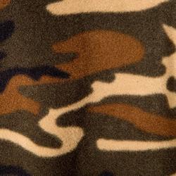Fleece-Jacke Kinder camouflage grün