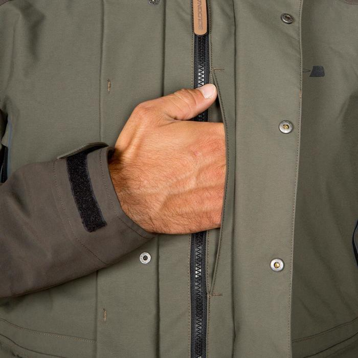 Veste chasse Inverness 500 imperméable vert - 532808