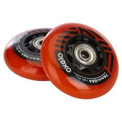 2 Waveboard-wielen Oxelo