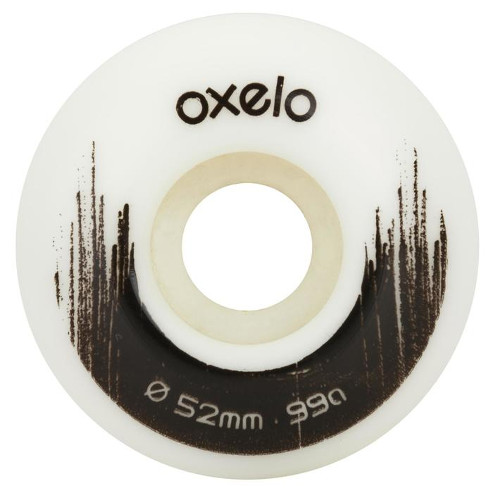 4 skateboardwielen 52 mm 99A