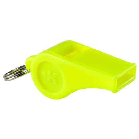 Silbato de Plástico Amarillo
