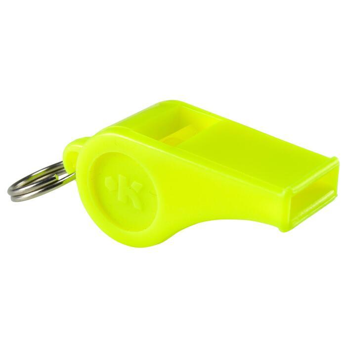 Kunststoffpfeife Trainerpfeife Schiedsrichterpfeife gelb