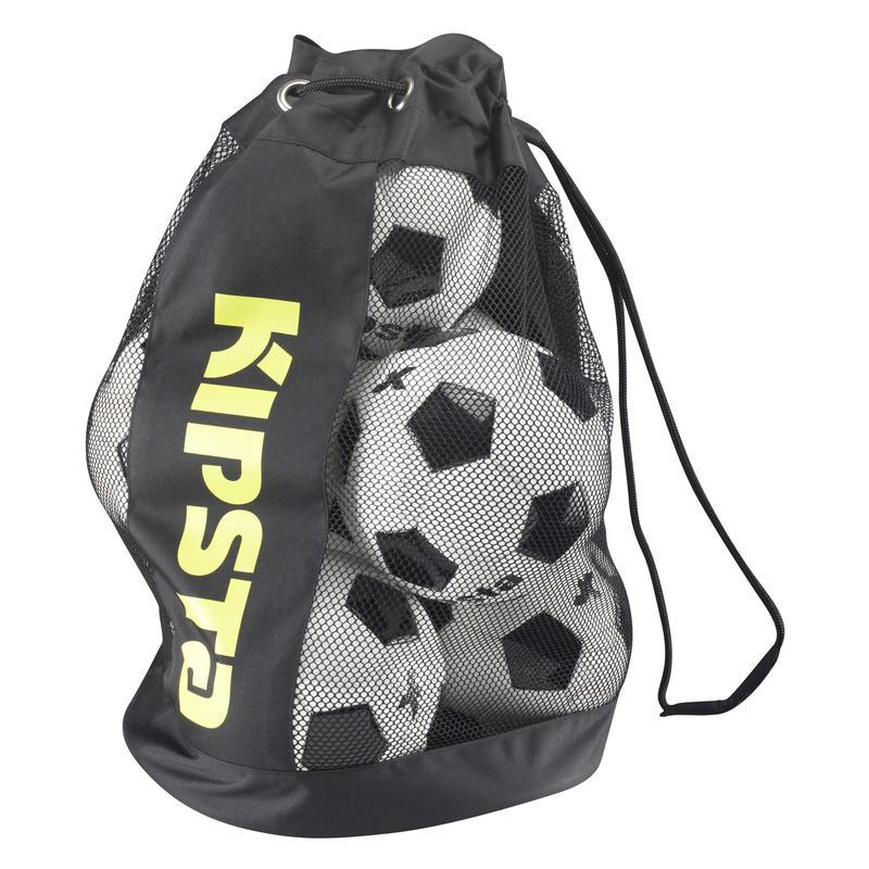 8 Football Black Ball Bag