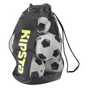 Črna in rumena vreča za 8 nogometnih žog