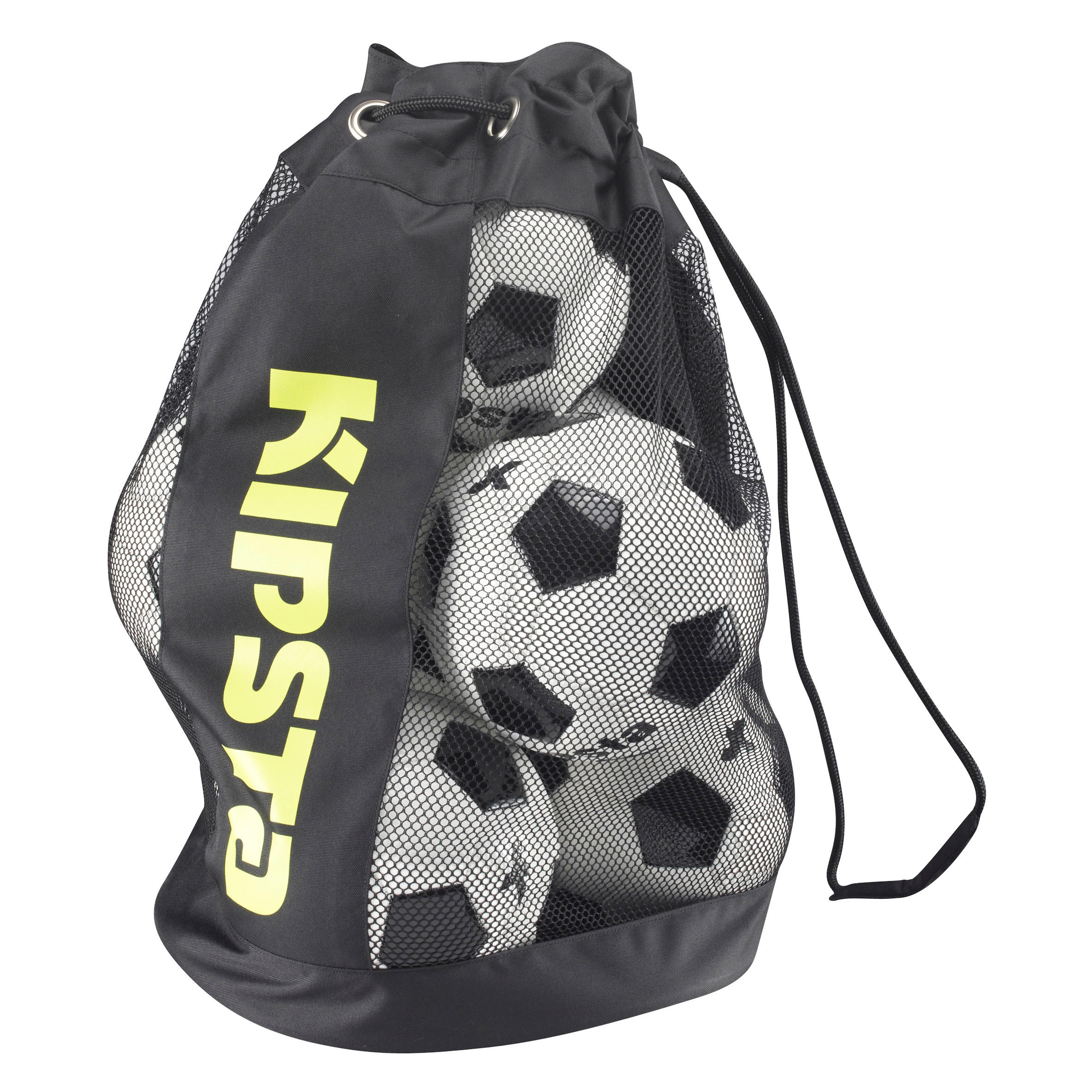 Soccer 8-Ball Bag - Black Yellow