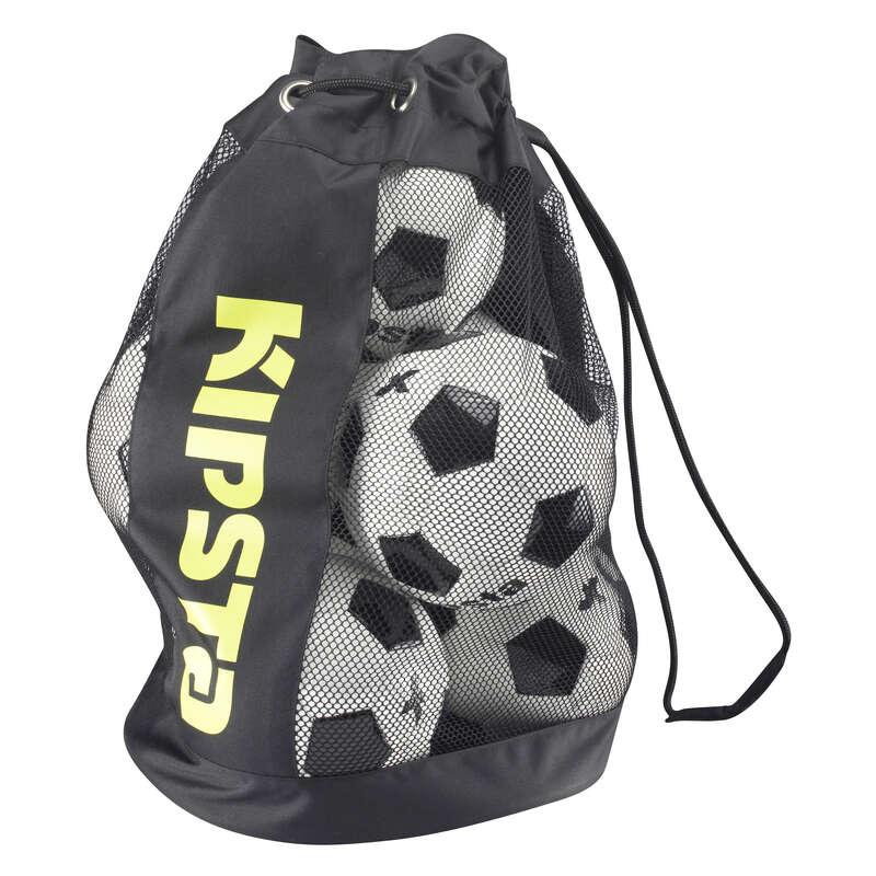 Accesorii sporturi de echipă Futsal - Husă Matelos 8 Mingi Negru KIPSTA - Aparatori si accesorii de antrenament