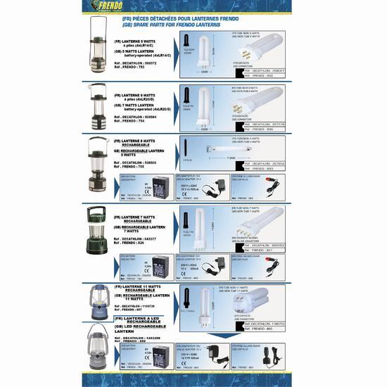 Batterij voor Frendo lamp 6 V - 533822