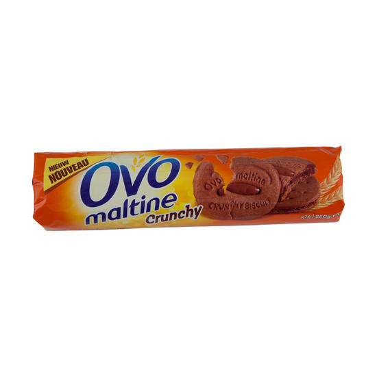 Sportkoekjes Ovomaltine Crunchy chocolade 250 g - 534533