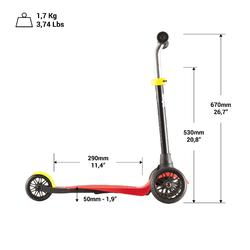 Scooter B1 Blende rot