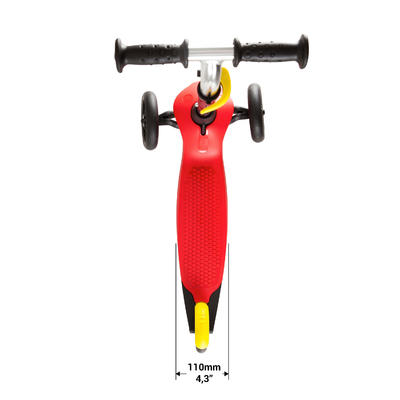 TROTTINETTE B1 COQUE ROUGE