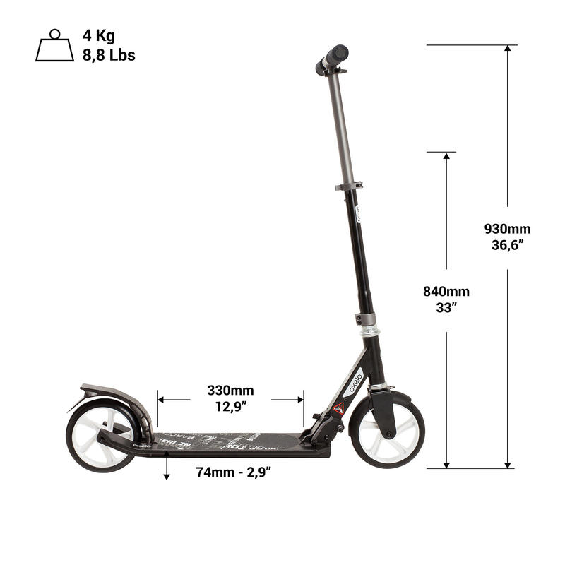 Mid 7 Scooter - UK