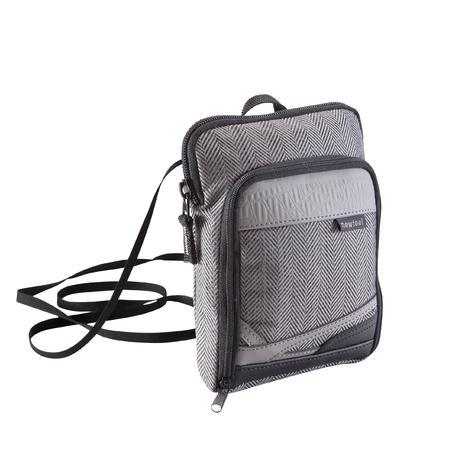 Slim Shoulder Bag - Tweed