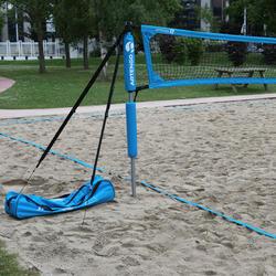 Beach tennis net blauw - 536127