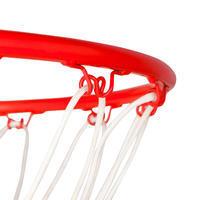 B700 Vaik./suaug. krepšinio lenta nuo 2,40 m iki 3,05 m. 7 žaidimo aukščiai.