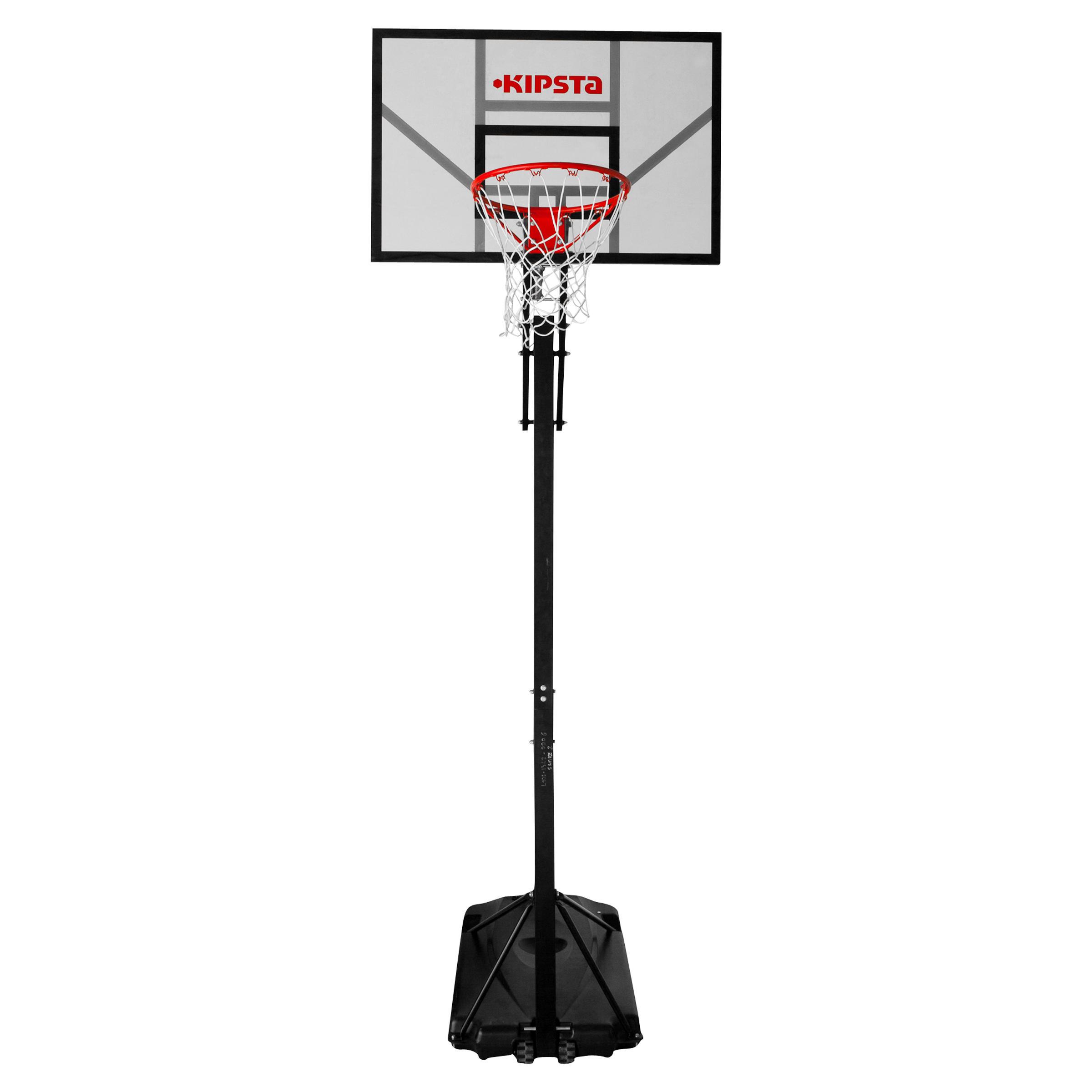 Panier de basket enfant/adulte B700. De 7,8' à 10'. 7 hauteurs de jeu.