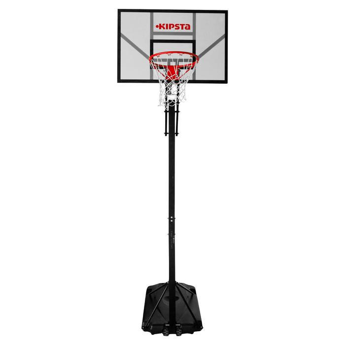 Panier de basket enfant/adulte B700. 2,40m à 3,05m. 7 hauteurs de jeu. - 536360
