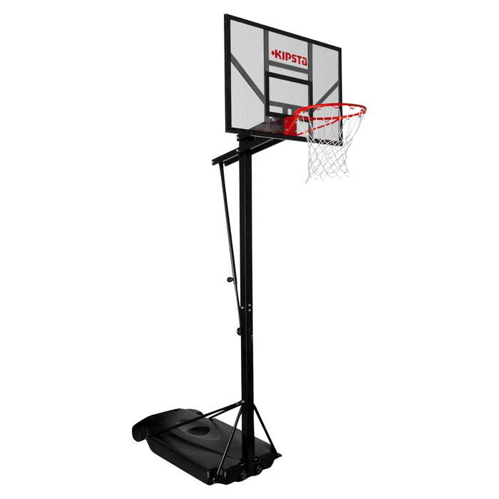 Panier de basket enfant/adulte B700. 2,40m à 3,05m. 7 hauteurs de jeu. - 536361
