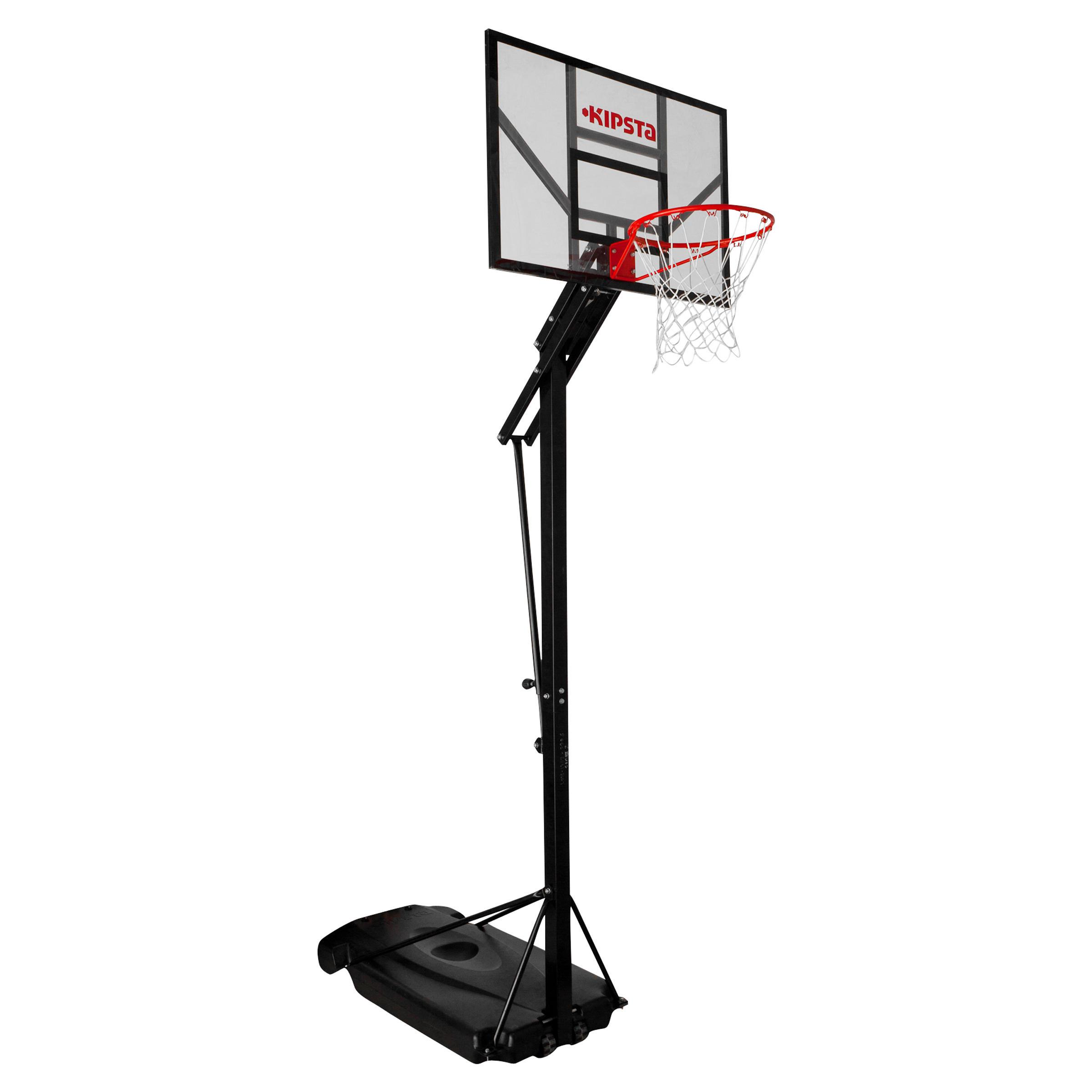 B700 Kids'/Adult Basketball Basket 2.4m to 3.05m. 7 playing heights.