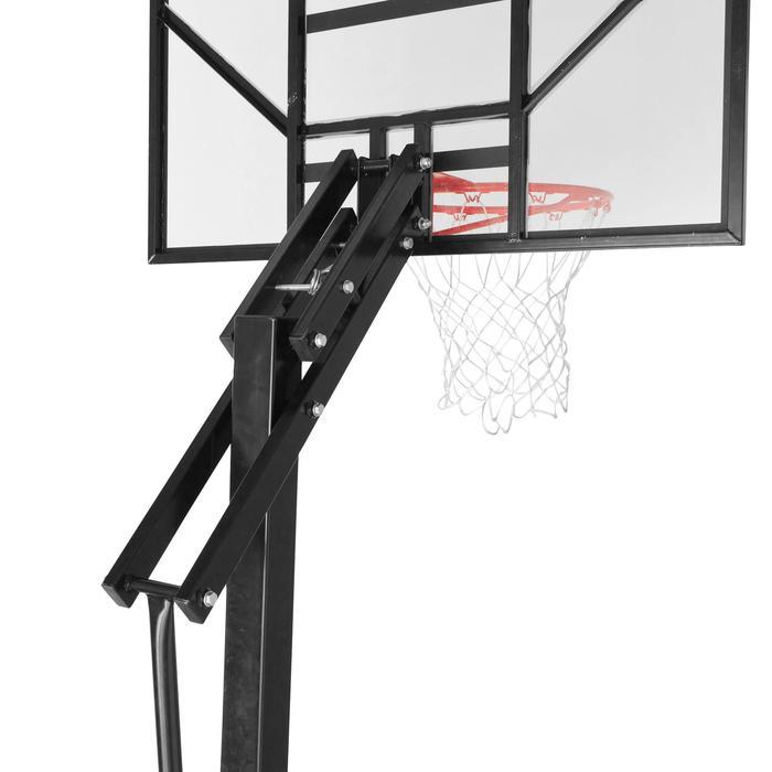 Panier de basket enfant/adulte B700. 2,40m à 3,05m. 7 hauteurs de jeu. - 536367