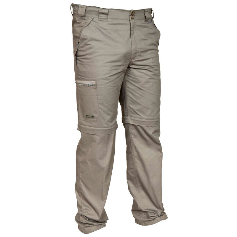 LIGHTWEIGHT CLOTHING - Namib 300 zip-off trousers grn SOLOGNAC