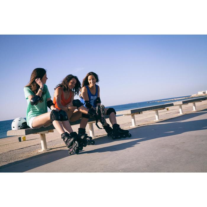 Fit 3 Women's Fitness Inline Skates - Black/Fuchsia - 536704