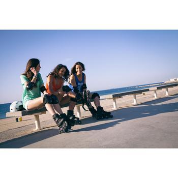 Roller fitness femme FIT 3 noir fuchsia - 536704