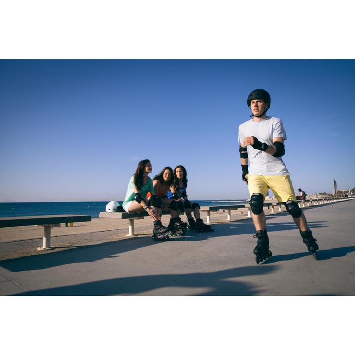 Roller fitness homme FIT 3 noir gris - 536705