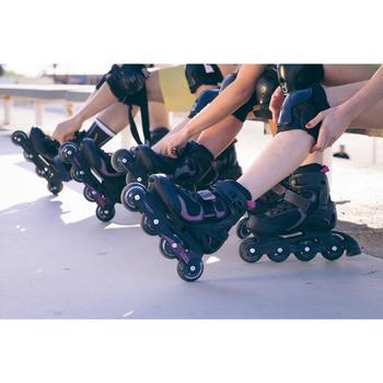 Fit 3 Women's Fitness Inline Skates - Black/Fuchsia