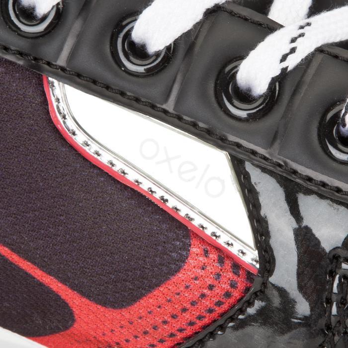Patines de hockey sobre hielo adulto XLR 5 negro rojo