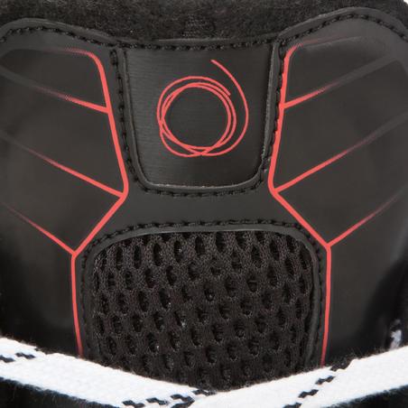 XLR 5 Adult Ice Hockey Skates - Black Red