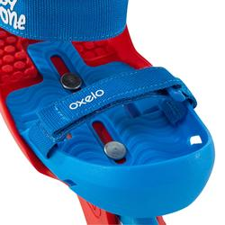 Inlineskates voor kinderen Play One beginners blauw rood