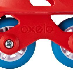 Inline Skates Inliner Play One Boy Kinder größenverstellbar blau/rot