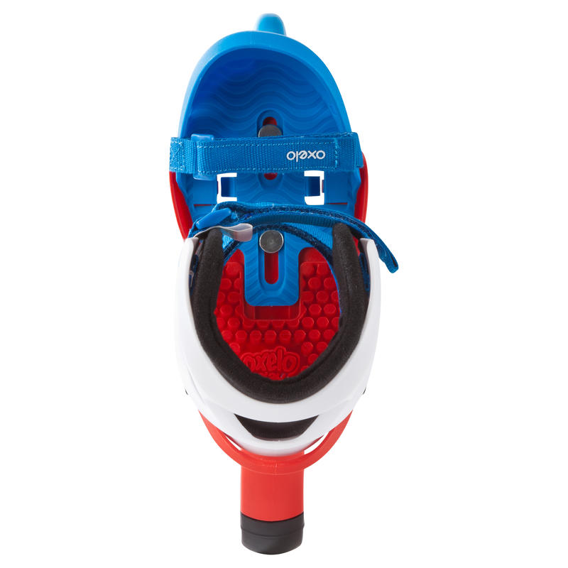 Play One Boys' Beginner Inline Skates - Blue and Red