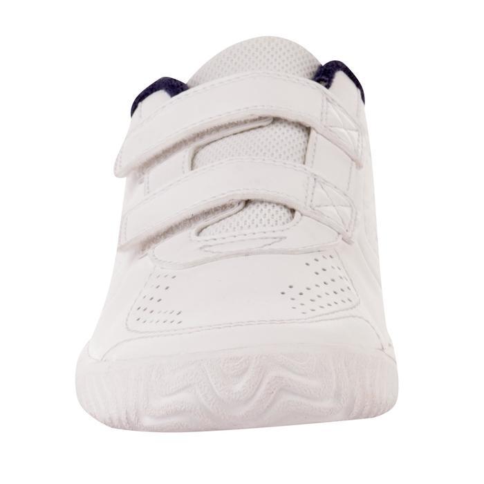 Tennisschoenen kinderen TS700 Grip wit