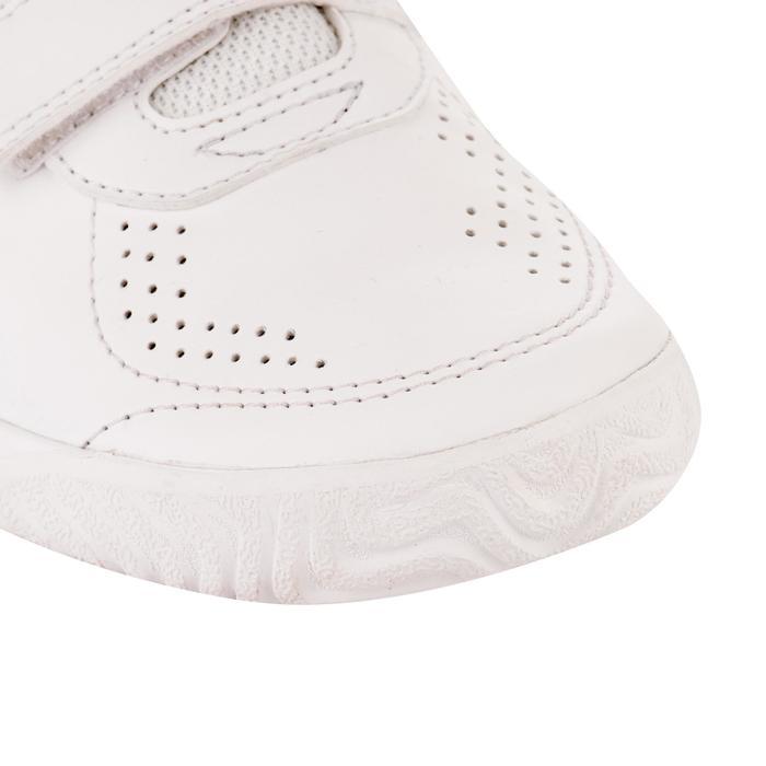 CHAUSSURES DE TENNIS ENFANT TS700 GRIP BLANC