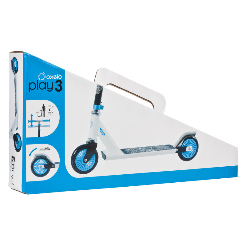 Play 3 Kids' Scooter - White