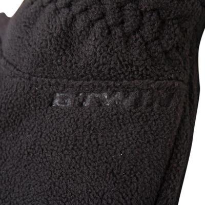 100 Winter Cycling Fleece Gloves - Black