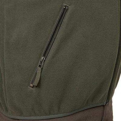 Флісова кофта 100 для полювання - Зелена