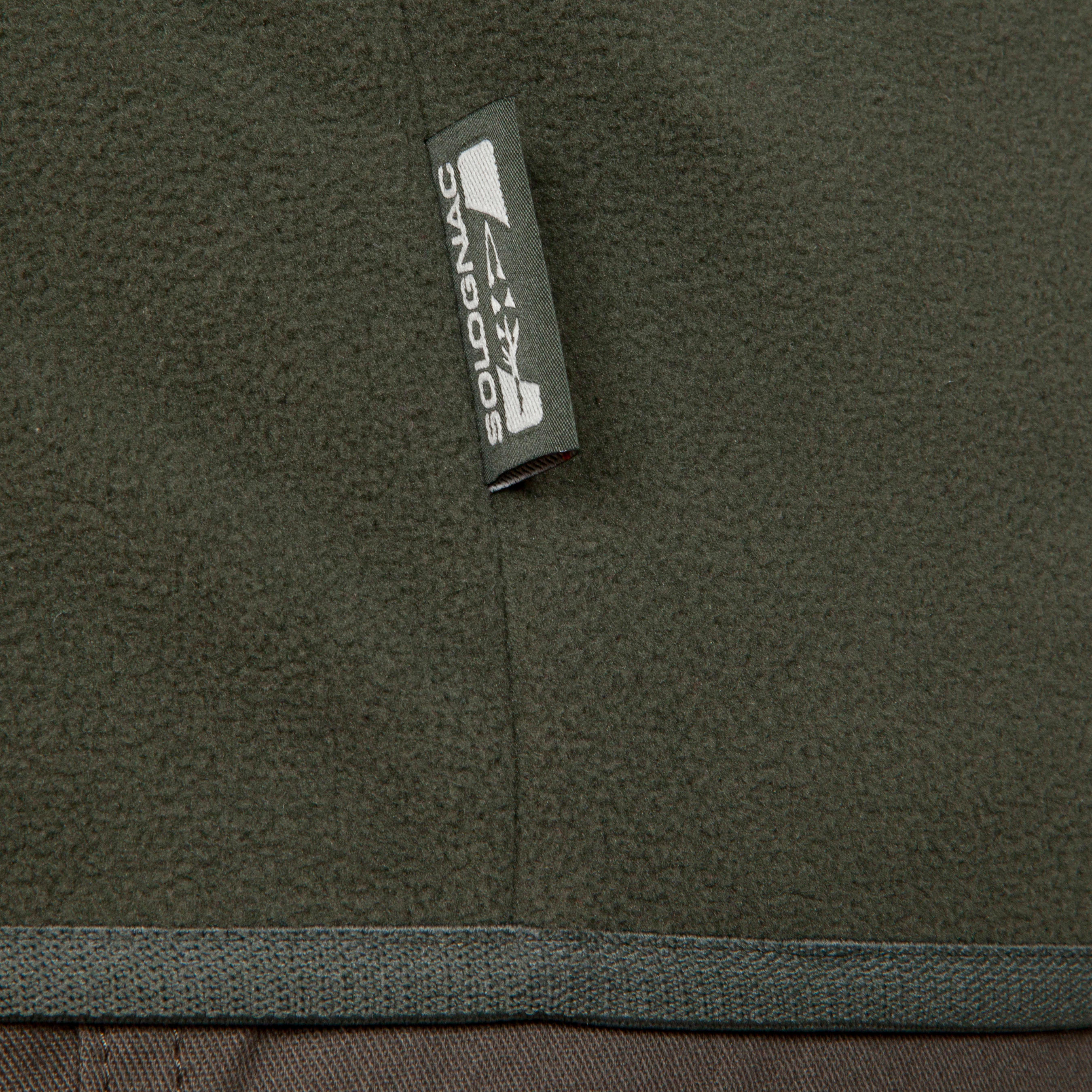 Polaire chasse 100 vert