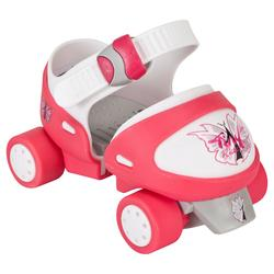 Patin à roulettes Quad fille TONY GIRL ajustable rose