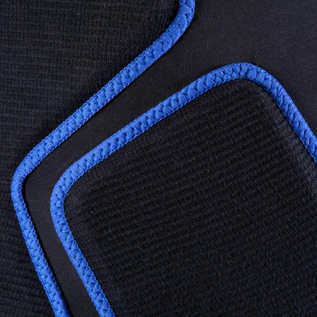 Crash Pad Adult Inline Skates Skateboard Scooter Protective Shorts - Black/Blue